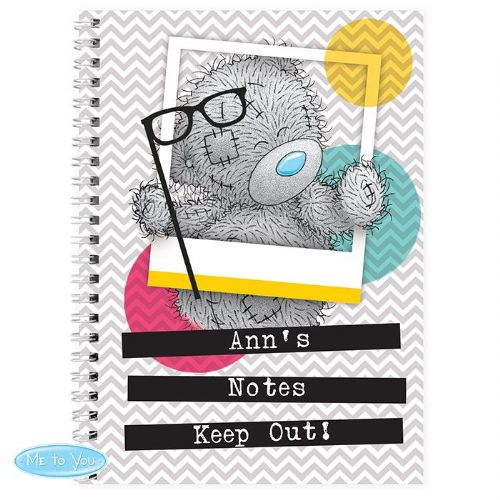 Personalised Me to You Trendy Snapshot Notebook